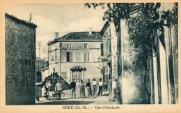 CPA - NÉRÉ - Rue Principale - Animée - Édition Verger - Non Circulée - TBE - - Altri Comuni