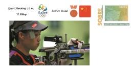Spain 2016 - Summer Olympic Games Rio 2016 -  Bronze Medal Sport Shooting 10 M. Cover - Tenis De Mesa
