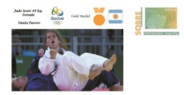 Spain 2016 - Summer Olympic Games Rio 2016 -  Gold Medal Judo Female Argentina Cover - Table Tennis