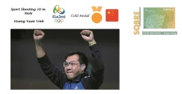 Spain 2016 - Olympic Games Rio 2016 - Gold Medal Sport Shooting Male Vietnam Cover - Table Tennis
