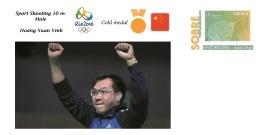 Spain 2016 - Olympic Games Rio 2016 - Gold Medal Sport Shooting Male Vietnam Cover - Tenis De Mesa