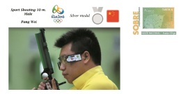 Spain 2016 - Olympic Games Rio 2016 - Bronze Medal Sport Shooting Male China Cover - Table Tennis