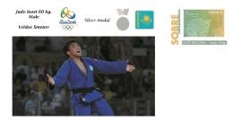 Spain 2016 - Olympic Games Rio 2016 - Silver Medal Judo Least 60 Kg. Male Kazajistan Cover - Tennis De Table