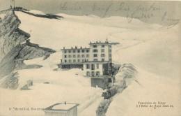 SWITZERLAND - TRANCHEES DE NEIGE A L'HOTEL DE NAYE - TRAIN & HOTEL IN SNOW - HIVER - 1905 - VINTAGE ORIGINAL POSTCARD - VD Vaud