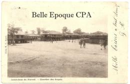 Guyane - SAINT-JEAN-du-MARONI - Quartier Des Forçats ++++ Cliché H. C. ++++ 1904 +++ ÉTAT - Guyane