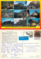 UNESCO Churches, Troodos, Cyprus Postcard Posted 1998 Stamp - Chypre