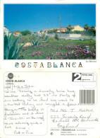 La Marina, Costa Blanca, Spain Postcard Posted 2000s Private Post ATM Stamp Via GB (?) Via Finland - España