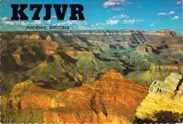 Amateur Radio QSL - AD7JVR / K7JVR - Phoenix, AZ -USA- 1976 - 2 Scans - Radio Amateur