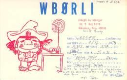 Amateur Radio QSL - WB0RLI - Sikeston, MO -USA- 1977 - Radio Amateur