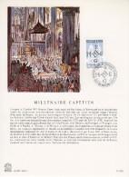 """FRANCE 1987 : Encart Philatélique 1er Jour """" MILLENAIRE CAPETIEN """" N° YT 2478. - Histoire"""