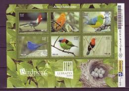 Brazil 2009 Birds 1bl MNH** - Brazil