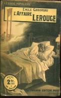 Gaboriau L'affaire Lerouge Ed Fayard - Boeken, Tijdschriften, Stripverhalen