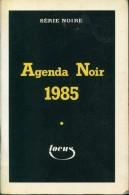 Serie Noire Agenda Noir 1985 - Série Noire