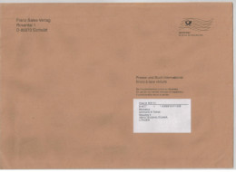 Cover Sent From Germany To Lithuania Telsiai 2016 - Cartas