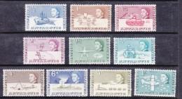 British Antarctic Territory, 1963, Short Set, 1/2d - 1/= MH * - Neufs