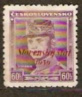 Slovakia 1939 Mi 10 ** - Slowakische Republik