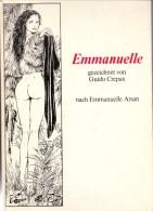 COMIC - EMMANUELLE, Guido Crepax, 1980 Bahia Verlag, 142 Seiten, Einbandecken Min Berieben, Inhalt Sehr Erhalten - Books, Magazines, Comics
