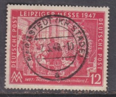 Allied Zone, 1947, Leipzig Messe 12pf, BARGESTEDT (KR STADE) 2.5.48 C.d.s. - American/British Zone