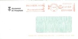 Spanien Barcelona AFS 1998 Stadtverwaltung Wappen Krone - Poststempel - Freistempel