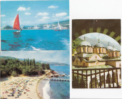 6 POSTCARDS:  BULGARIA / BULGARIE / BULGARIJE - (See 3 Scans / Voir 3 Scans) - Cyprus