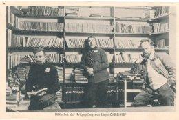 Allemagne: Ohrdruf  Camp De Prisonniers Sous Officiers :Bibliothek Der Krigsgefangenen  ; Lager Ohrdruf - Oorlog 1914-18