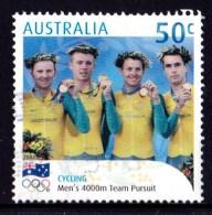 Australia 2004 Olympic Gold Medallists 50c Cycling Pursuit Used - - - - 2000-09 Elizabeth II