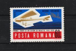 1970 - 50 Anniv. Du Premier Avion Roumain Mi No 2896 Et Y&T No P.A. 227 MNH - 1948-.... Republiken