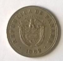 PANAMA - 5 Centesimos  - 1962 - - Panama