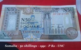 Somalia - 50 Shillings - 1991 - P R2 - UNC - Somalia