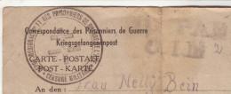Correspondance De PG Dépôt Régional N°11 -Censure Militaire - Camp Pasteur Lens écrite Le 27.07.1944--> Allemagne Lager - Marcophilie (Lettres)