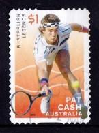 Australia 2016 Tennis $1 Pat Cash Self-adhesive Used - 2010-... Elizabeth II