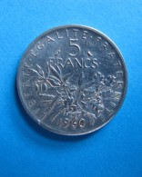 Vends 1 Pièce De 5 Francs En Argent De 1960 - Ghana