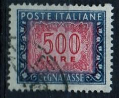 PIA - ITA - 1964 : SPECIALIZZAZIONE : Segnatasse  £ 500  - (SAS 120 -  CAR  46/I) - 1946-.. Republiek