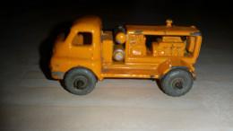 MATCHBOX ENGLAND MOKO LESNEY No.28a BEDFORD 'S' TYPE COMPRESSOR TRUCK - Trucks, Buses & Construction
