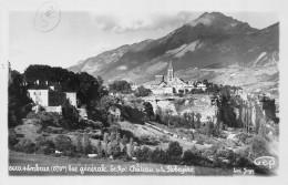 CPA 05 EMBRUN VUE GENERALE LE ROC CHATEAU DE LA ROBEYERE - Embrun