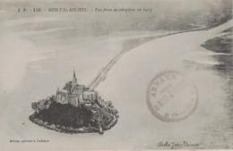 MONT SAINT MICHEL -50- VUE PRISE EN AEROPLANE EN 1913 - Le Mont Saint Michel