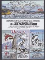 TAAF 2002 Les Jeux Olympiques Des Taaf M/s ** Mnh (31569X) - Blokken & Velletjes