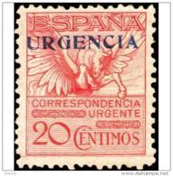 ES489STV-LFT**489. España. Spain.Espagne PEGASO.URGENTE.1929.(Ed 489*)con Charnela.MUY BONITO - Correo Urgente