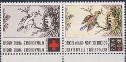 2612 + Vignette CROIX ROUGE NEUF ** Bord De Feuille ANNEE 1989 - Frankreich
