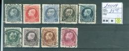 211-219 Obl - 1921-1925 Small Montenez