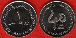"""United Arab Emirates 1 Dirham 2008 Km#85 """"National Bank"""" UNC - Emirats Arabes Unis"""