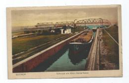 CPA Allemagne Bottrop Schleuse Am Rhein Herne Kanal 1924 - Bottrop