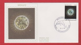 Monaco /  1 Er Jour /  22-02-91 / Musée Océanographique : Phytoplancton - FDC