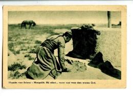 17676   -   Missiên Van Scheut  -  Mongoliê, Hij Offert ....maar Niet Voor Den Waren God - China