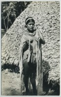 (Guyane) Femme Roucouyenne. Carte Photo. - Guyane