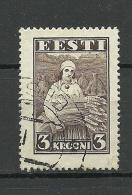 ESTLAND ESTONIA Estonie 1935 Harvesting Landarbeit Ernte Michel 108 O - Berufe
