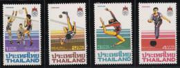 Thailand 1985 SEAP Games Mi# 1148-51 ** MNH Sport Spiele - Thailand
