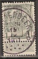 Rijkswapen Nr. 81 Voorafgestempeld Nr. 1628 Positie  B   LIEGE 1911 LUIK +  ; Staat Zie Scan ! Inzet Aan 10 € ! - Precancels