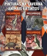 Z08 MOZ16102a MOZAMBIQUE 2016 Cave Paintings MNH - Mozambique