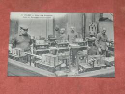 """PARIS    1910  METIER BANQUE   HOTEL DES MONNAIES N° 18  """"    SALLE DE BALANCES AUTOMATIQUES    """"  EDIT CIRC OUI - Artisanry In Paris"""